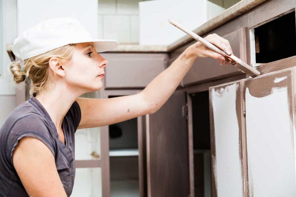 Keukenkastjes schilderen