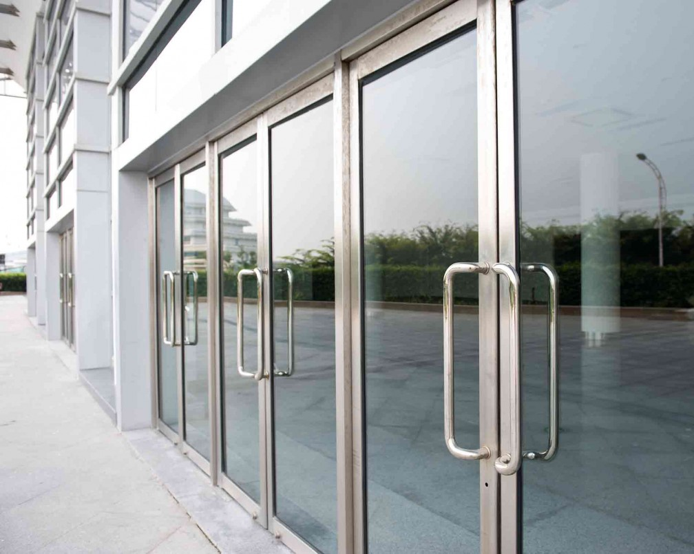 Glazen deuren